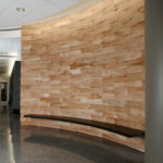 Designed by Meyer Wells with wood from City Tree Salvage Featured on Contemporist