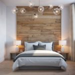 Magnificient Bedroom Design Ideas with Wooden Panel