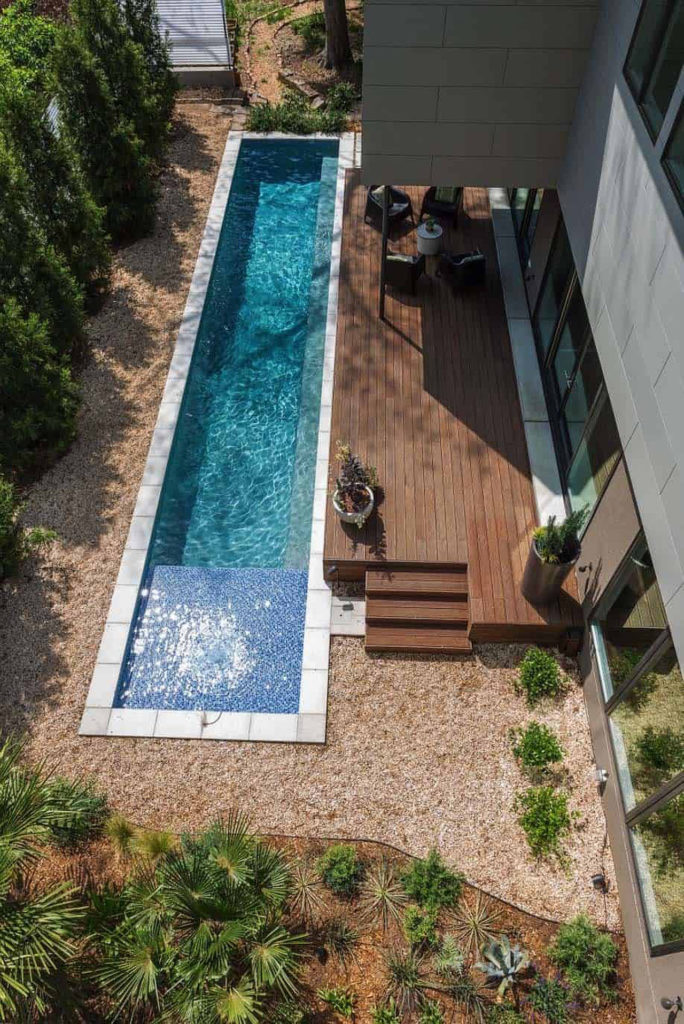 Modern Backyard Ideas With Swimming Pool Jacuzzi Or Hot Tub Colour My Living