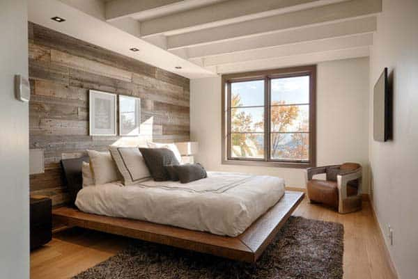 Modern Washed Wood-Accent-Wall