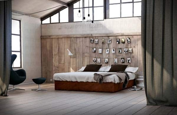 Spacious Barn Conversion-Wooden-Walls-with-Photos