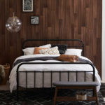 Timber Feature Wall for the Bedroom on realestate.com.au