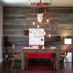 Reclaimed wood feature wall exquisite ways to incorporate into your dining room