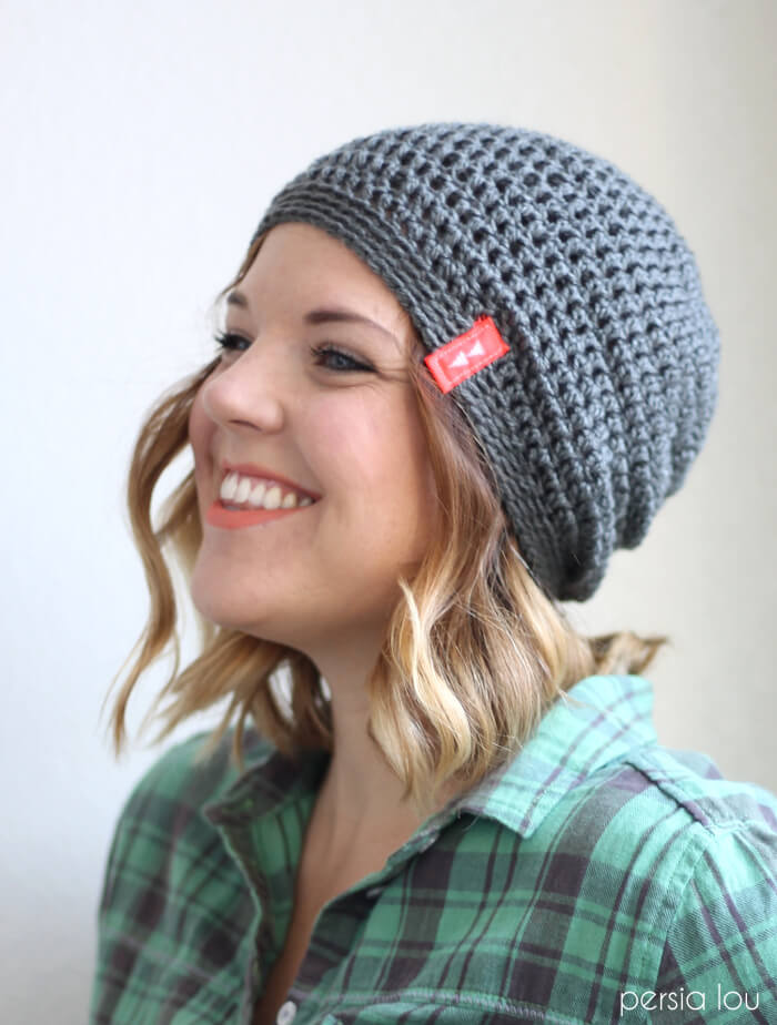 Persia Lou Simple Slouch Hat
